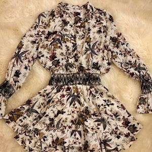 ALC silk floral dress